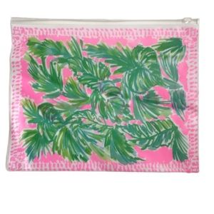 Lilly Pulitzer Resorts Swimsuit Bag Plastic NEW